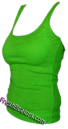 Lime Womens Wife Beater Shirts (3 Beaters)