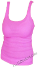 Pink Womens Wife Beater Shirts (3 Beaters)