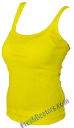Yellow Womens Wife Beater Shirts (3 Beaters)