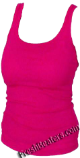 Hot Pink Womens Wife Beater Tank Top Shirts