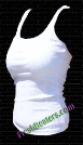 White Womens Wife Beater Shirts (3 Beaters)