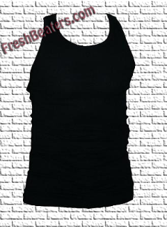 Pro 5 - Black Tank Top Wife Beater (3 Beater)