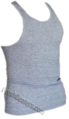 Pro Club Gray Cotton Tank Top (2 Beater)