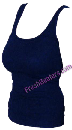Navy Womens Wife Beater Shirts (3 Beaters)
