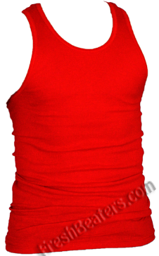 Pro Club Red Tank Top Wife Beater  (2 Beater)