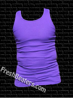 Pro 5 - Purple Tank Tops Wife Beater (3 Beater)