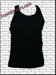 Mens Wife Beater Shirts - Black Beater