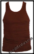 Brown Muscle Tank Tops - 2 Beaters