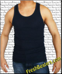 Navy Blue WifeBeater - Blue Tank Top