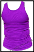 Purple Wife Beaters Tank Top - 2 Beaters