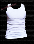 Pro 5 White Tank Top Beater