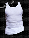Pro Club White Tank Top Beater