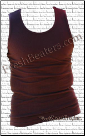 Brown Beater Tank Tops 3pack