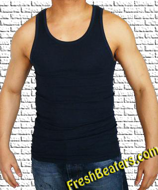 1b5661e815618 Navy Blue Wife Beater Tanks - Colored Tank Tops Wife Beater